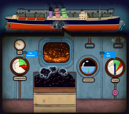 interactive videogame PixelSens maritime museum sjöfartsmuseet
