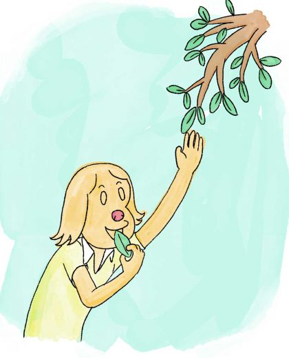 eat a tree