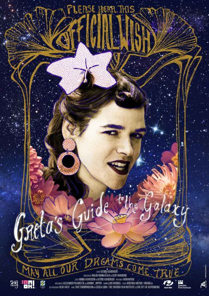 Greta's Guide To The Galaxy Poster